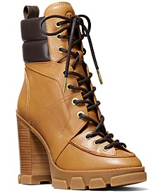 Ridley Lace-Up Boots