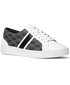 Monae Signature Logo Lace-Up Sneakers