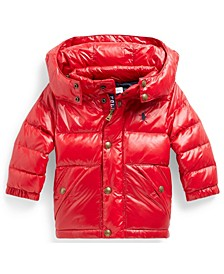 Ralph Lauren Baby Boys Water-Repellent Down Jacket