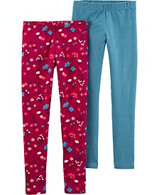 Big Girl 2-Pack Leggings