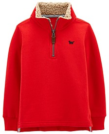 Carters Toddler Boy Half-Zip Fleece Pullover