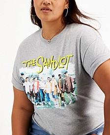 Trendy Plus Size Sandlot Cropped T-Shirt