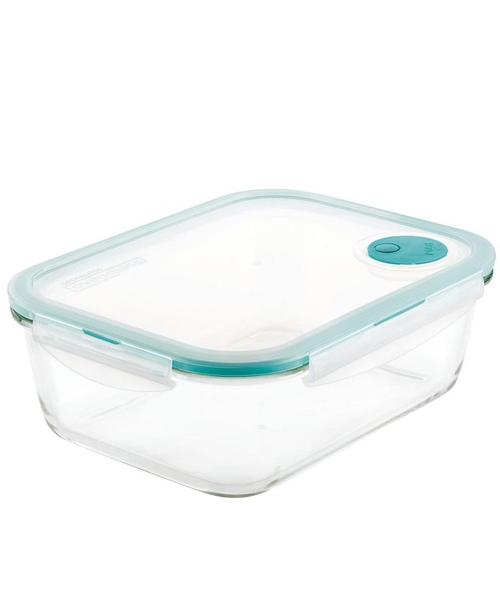 Lock n Lock - Purely Better Vented Glass Food Storage Container, 68-Ounce
