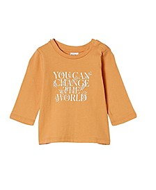 Baby Boys and Girls Jamie Long Sleeve T-shirt