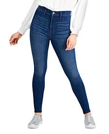 Juniors' High-Rise Skyscraper Skinny Jeans