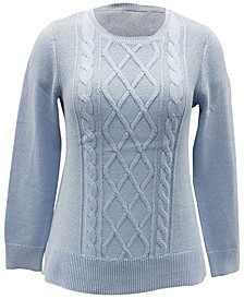 Cable-Knit Sweater, Created for Macy's