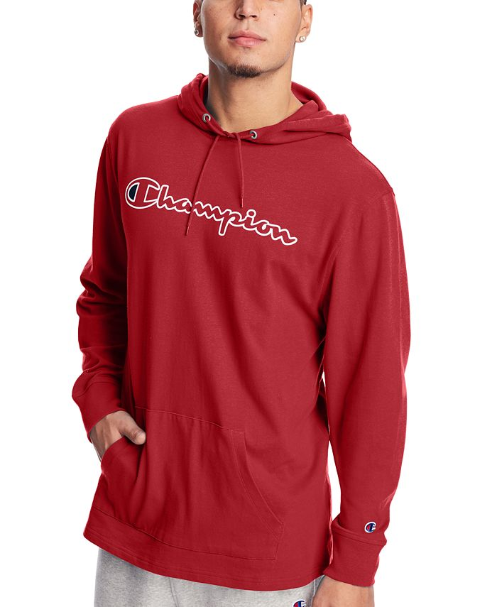 Champion - Men's Middleweight Jersey Graphic Hoodie