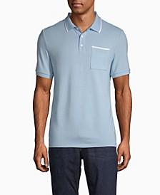 Men's Move 365 Logo Tipped Polo Shirt