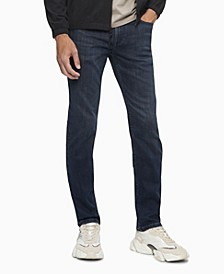 Men's Slim Fit Hi Stretch Ansel Dark Lux Lined Jeans