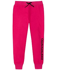 Big Girls Fleece Sequins Jogger