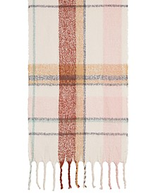 Spacious Plaid Blanket Wrap