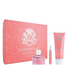 Women's Signature for her Gift Set, 3 Piece