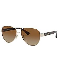 Women's Polarized Sunglasses, HC7111 57 L1128