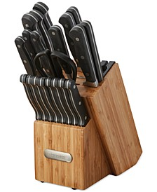 Edgekeeper 21-Pc. Forged Cutlery Set