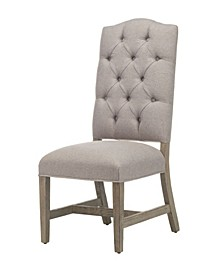 Wooden Wilson Tufted Dining Chair Set of 2