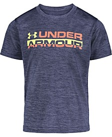 Toddler Boys Horizon Branded Twist Short Sleeves T-shirt