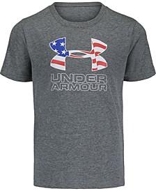 Little Boys Americana Logo Short Sleeves T-shirt