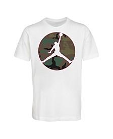 Big Boys Camo Jumpman Logo T-shirt