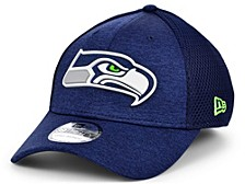 Seattle Seahawks Shadow Tech Rubber Neo 39THIRTY Cap