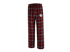 Oklahoma Sooners Men's Parkway Plaid Pajama Pants