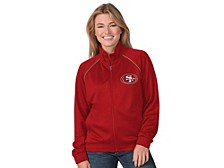 San Francisco 49ers Women's Power Play Track Jacket