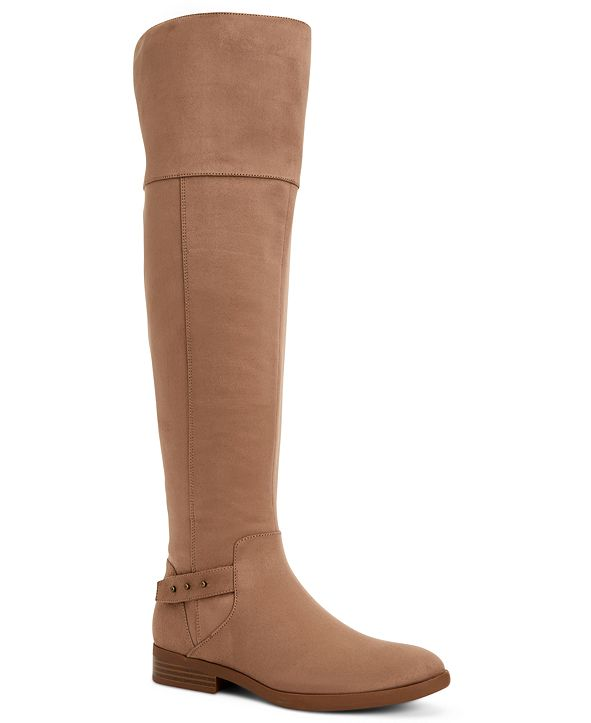Style & Co Lessah Over-The-Knee Boots, Created for Macy's