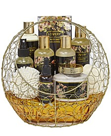 Lavender and Jasmine Body Care 10 Piece Gift Set