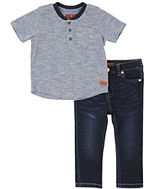 7 For All Mankind Toddler Boys 2-Piece Set