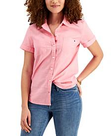Linen Camp Shirt