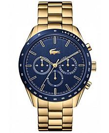 Men's Boston Gold-Plated Bracelet Watch 42mm