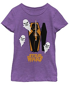Big Girls Star Wars Coffin Spooks Short Sleeve T-shirt
