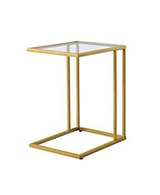 Roberto Glass Top C Table