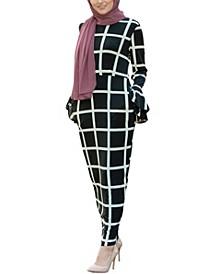 Women's Bold Line Jersey Maxi Dress