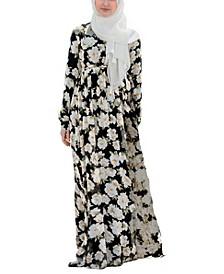 Women's Sunflower Criss Cross Maxi Dress