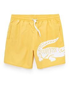 Men's Quick-Drying Printed Swim Trunks