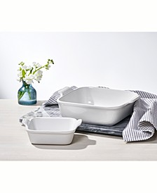 Heritage Square Baking Dishes, Set of 2