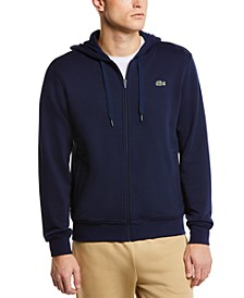 Men's SPORT Long Sleeve Full-Zip Solid Hoodie