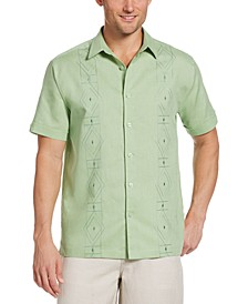 Cubabera Men's Big & Tall Geo Shirt