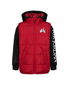 Little Boys Jumpman Classics 2fer Full-Zip Hoodie