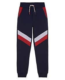 Little Boys Anthony Mesh Pieced Sweatpant