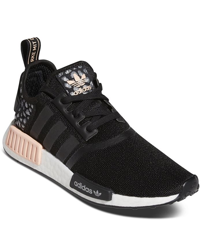 adidas Women's NMD R1 Animal Print Casual Sneakers from Finish ...