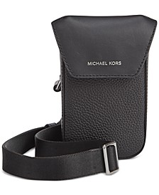 Men's Greyson Leather Flap Phone Crossbody
