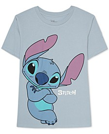 Juniors Stitch Graphic Print T-Shirt