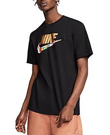 Men's Olympic Flag Swoosh T-Shirt
