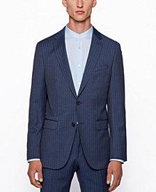BOSS Men's Novan6/Ben2 Pinstripe Slim-Fit Suit