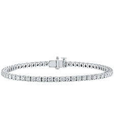 Diamond Tennis Bracelet (5 ct. t.w.) in 14k White Gold