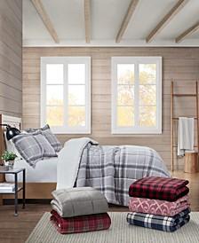 Sherpa Comforter Set