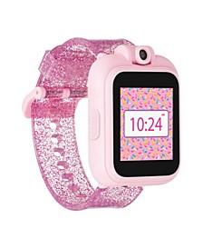 Kid's Playzoom 2 Fuchsia Glitter Tpu Strap Smart Watch 41mm