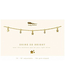 Shine So Bright Dangle Necklace