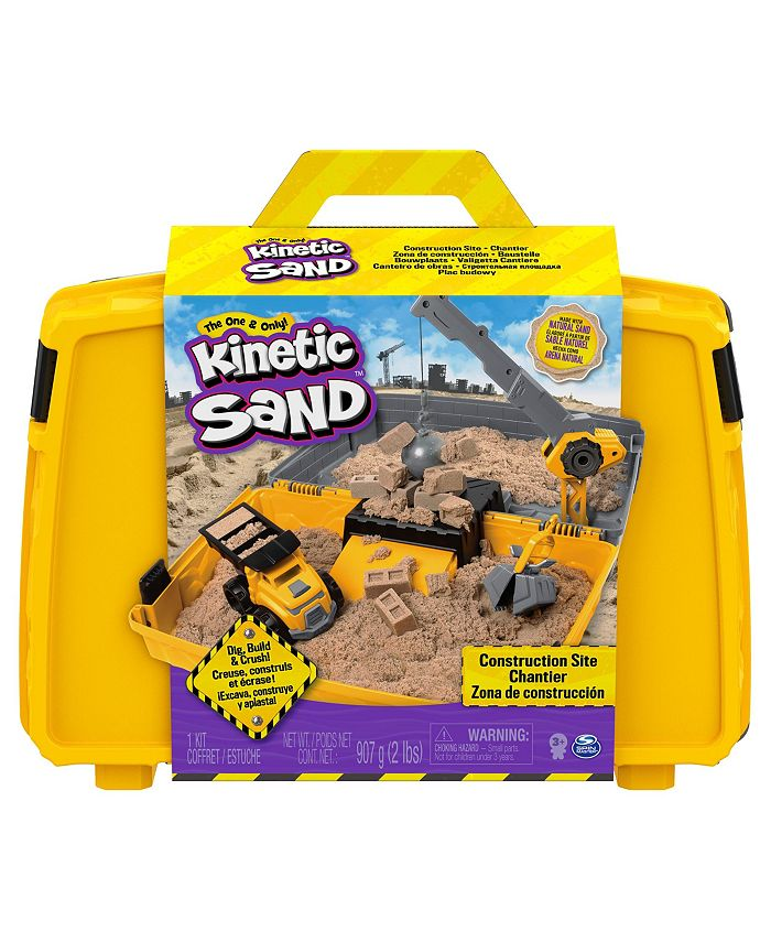 Kinetic Sand - Construction Site